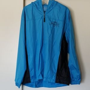 """Mens water proof jacket size large with """"glassport"""